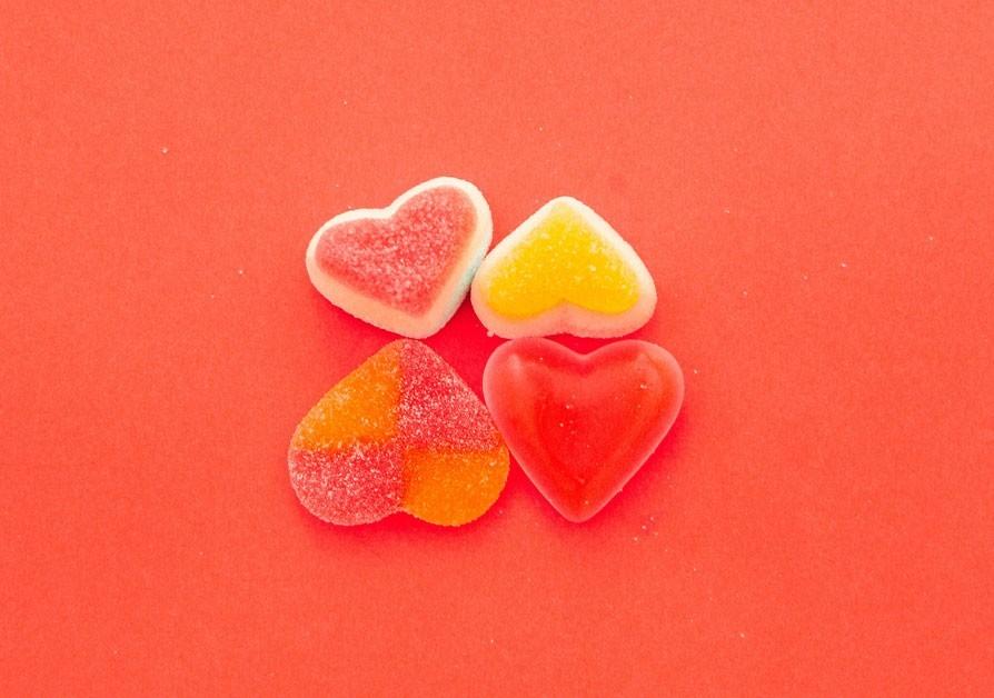 Sweet Love Corazones