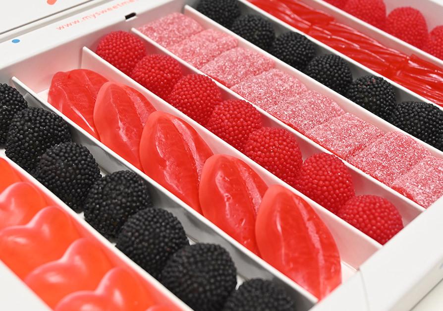 Sweet Black & Red