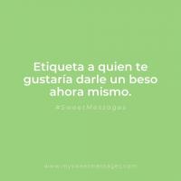 ¡HOY ES EL DÍA DEL BESO! 💋 👄 #sweetmessages #dulce #diadelbeso #amor #love #regaloperfecto