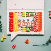 Se os ha hecho corta o larga esta Semana Santa? 🍬🍫 #sweetmessages #sweet #regaloperfecto #dulces #chuches
