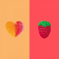 ¿🧡 o 🍓?   #Golosinas #SweetMessages #Regalo