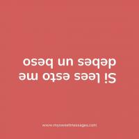 Y si lees esto dos 😳    #Beso #RegaloOriginal #MensajePersonalizado 