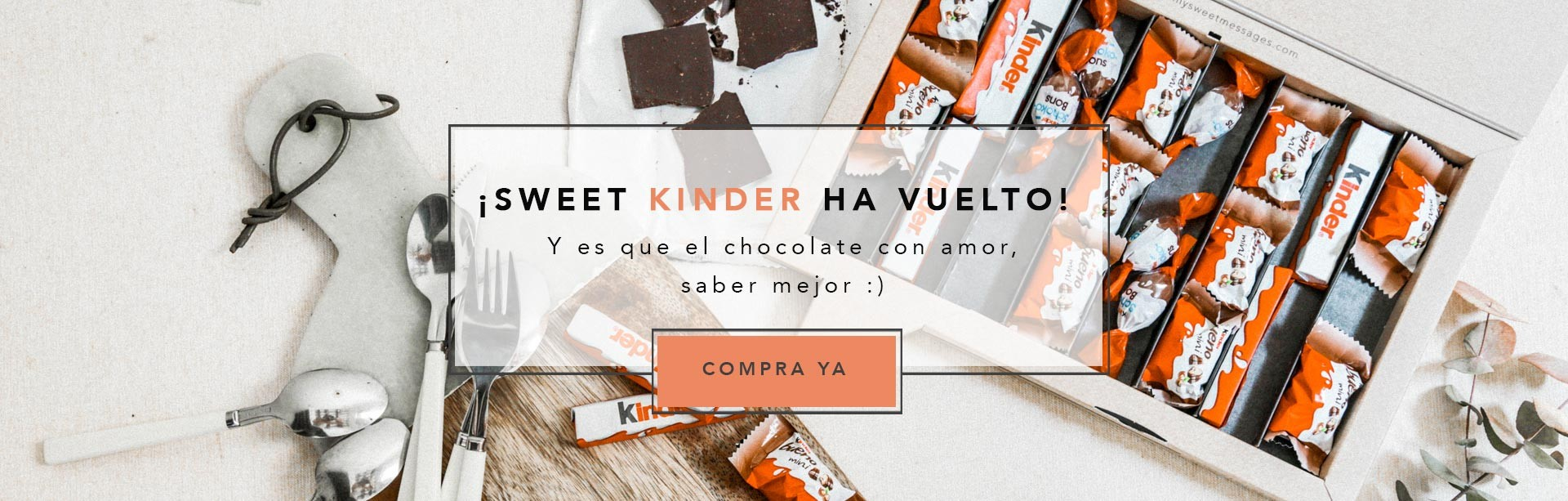 ¡Sweet Kinder a vuelto!
